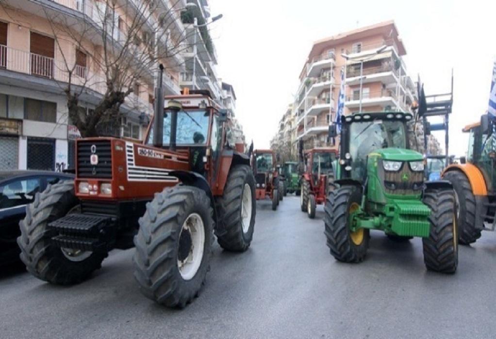 Έδεσσα: Μηχανοκίνητη πορεία αγροτών – Ζητούν 100% αποζημίωση