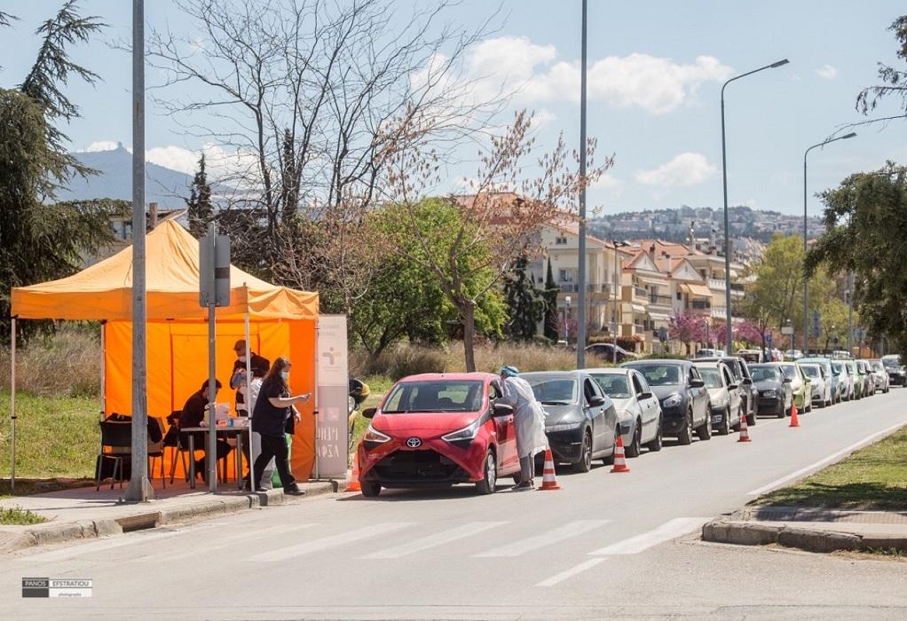 Συνεχίζονται τα rapid tests στον δήμο Πυλαίας-Χορτιάτη