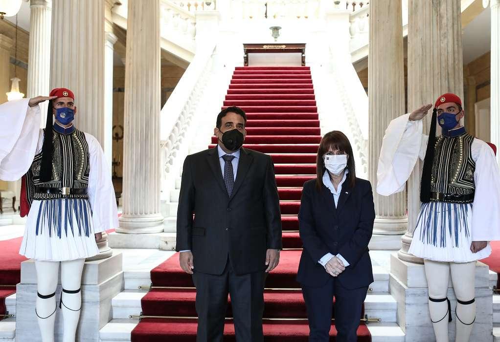 ΠτΔ: Η Λιβύη θα βρει στην Ελλάδα έναν ειλικρινή φίλο και συμπαραστάτη