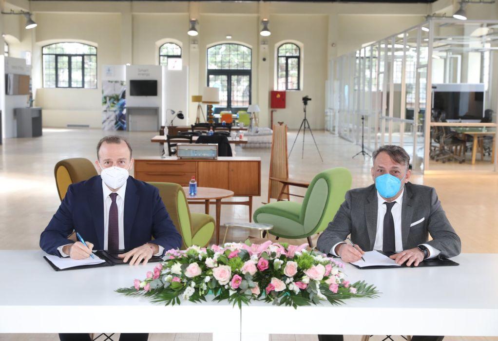 Μνημόνιο συνεργασίας του ΑΠΘ και του Διεθνούς Κέντρου Ψηφιακού Μετασχηματισμού και Ψηφιακών Δεξιοτήτων