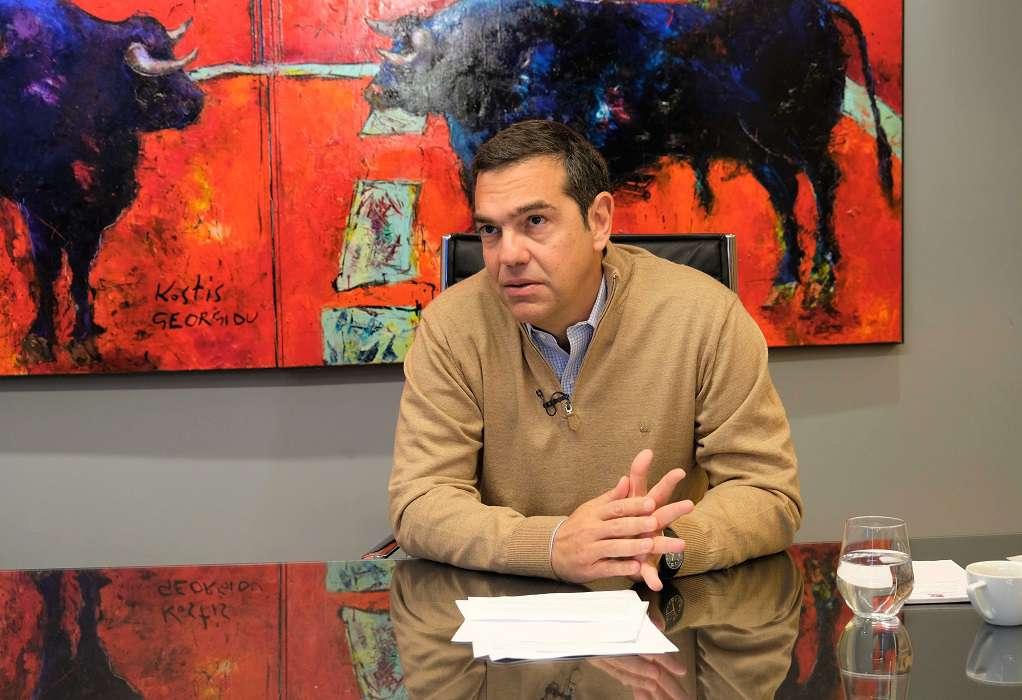 Αλ. Τσίπρας: Η κυβέρνηση καταδιώκει τον αγρότη παραγωγό