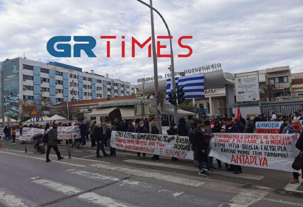 Υγειονομικοί: Στα επίπεδα Νοέμβρη η Θεσσαλονίκη – Φόβοι για «εμπόλεμη κατάσταση» (VIDEO)