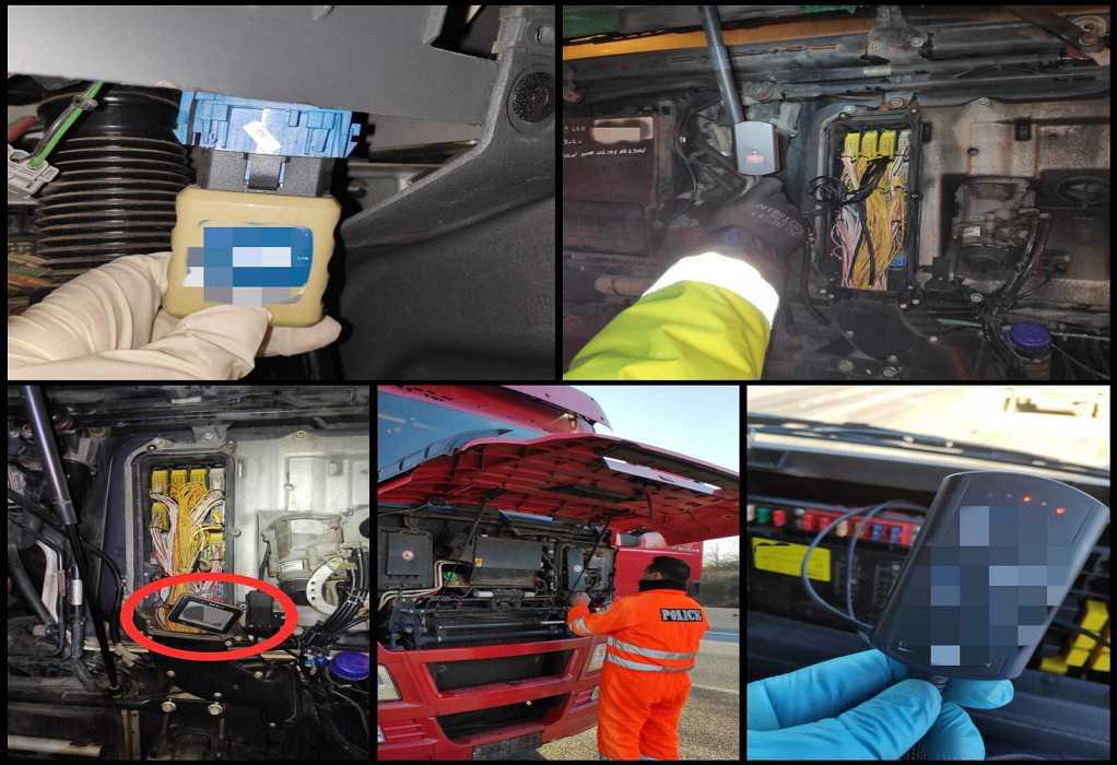 Θεσσαλονίκη: Εντοπίστηκαν 41 φορτηγά με παραποιημένους ταχογράφους