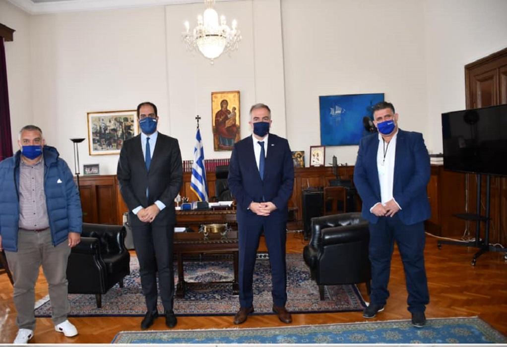 ΥΜΑΘ: Συνάντηση Σ. Καλαφάτη και Κεφαλογιάννη με το Σωματείο Ιδιοκτητών Ταξί Θεσσαλονίκης