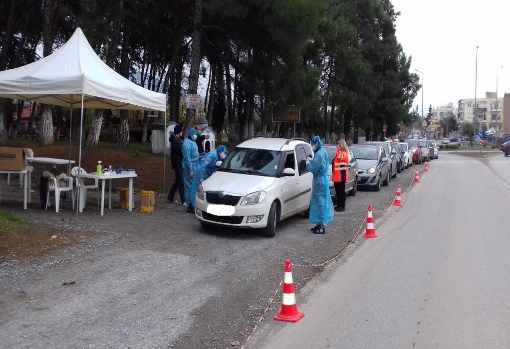 Συνεχίζονται τα rapid tests από αύριο στον δήμο Θέρμης