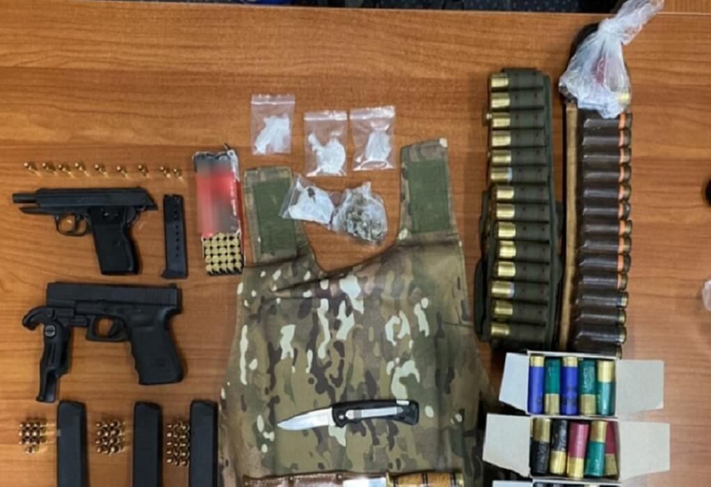 Κρήτη: Σύλληψη άντρα για ναρκωτικά και όπλα