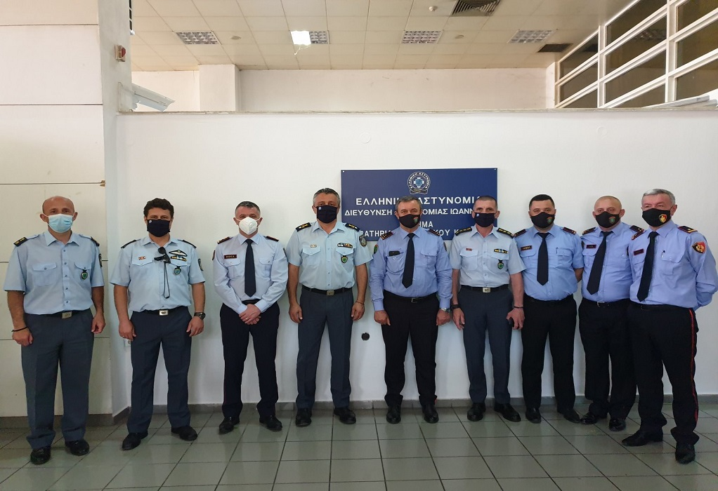 Εποικοδομητικές συναντήσεις των Αστυνομικών Διευ/ών Ηπείρου και Δ. Μακεδονίας με ομολόγους τους από την Αλβανία