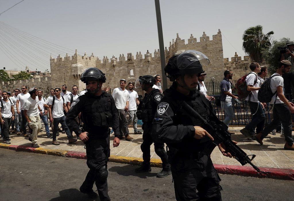 Πάνω από 300 τραυματίες σε ταραχές στην Ιερουσαλήμ
