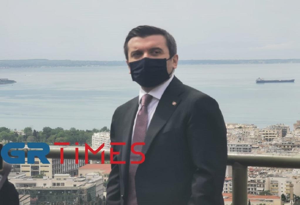 Τζαμί στη Θεσσαλονίκη ζήτησε από τη Θράκη ο Τούρκος ΥΦΥΠΕΞ
