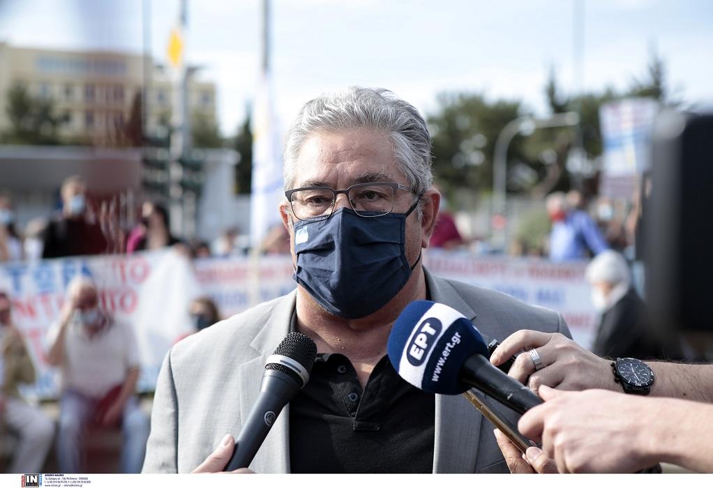 Δ. Κουτσούμπας: Αλληλεγγύη στον Παλαιστινιακό λαό