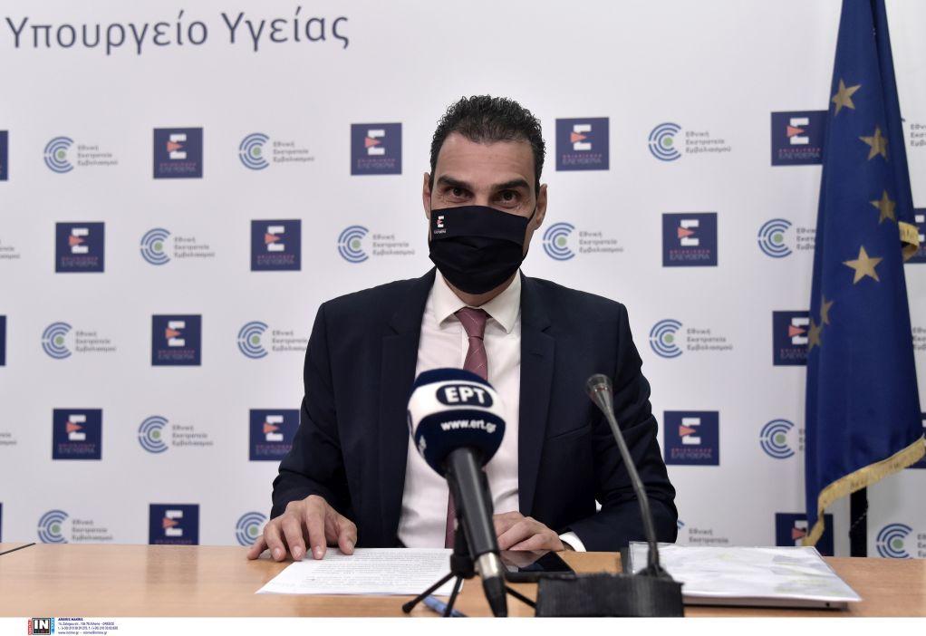 Θεμιστοκλέους: Μέχρι τις 31 Μαΐου θα έχουμε εμβολιάσει 5,6 εκατ. πολίτες