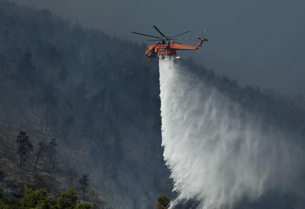 Ανεξέλεγκτη παραμένει η φωτιά στην Κω – Εντολή εκκένωσης στην Τσουκαλαριά