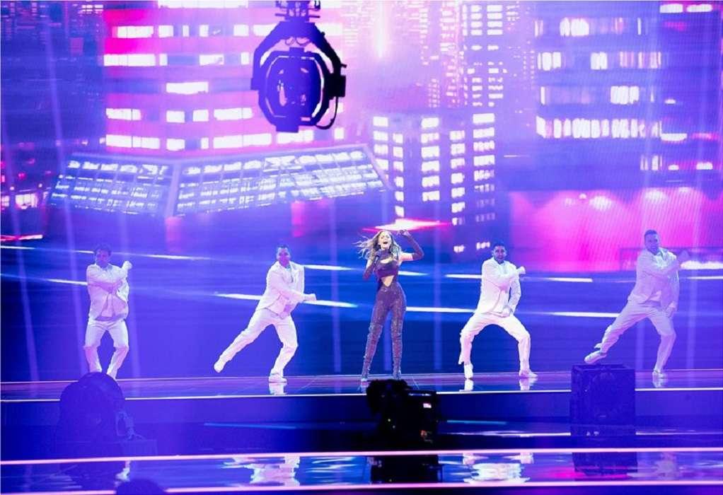 Eurovision 2021: Εντυπωσιακή η Στεφανία και στη δεύτερη πρόβα της
