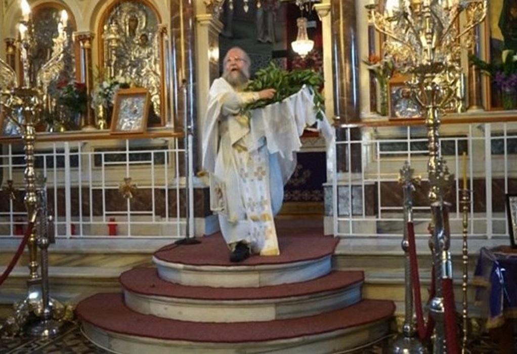 Χίος: Έκανε την πρώτη Ανάσταση ο «ιπτάμενος ιερέας» (VIDEO)