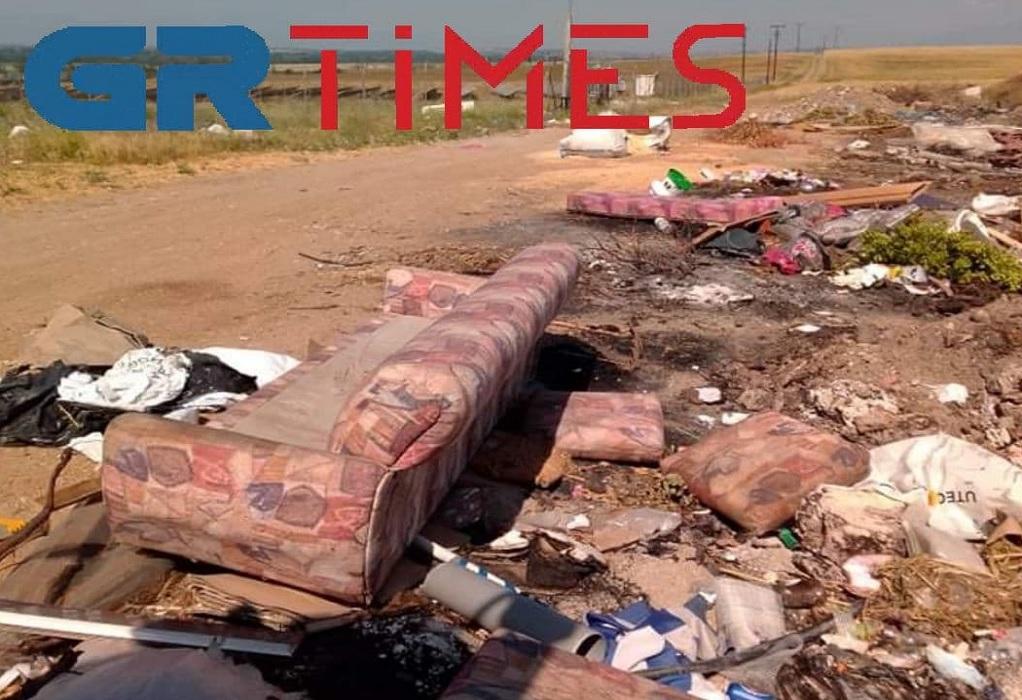 Δ. Χαλκηδόνας: Μια απέραντη χωματερή πλάι σε περιοχή…Natura (ΦΩΤΟ)