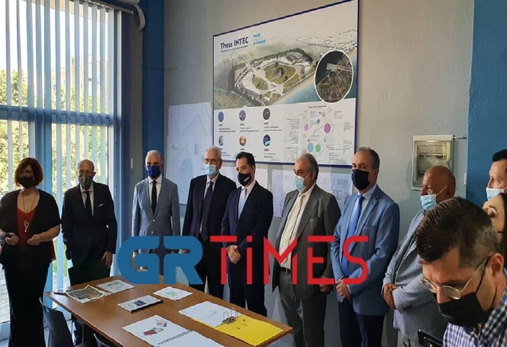 Thess INTEC: Καπαρώθηκαν οι χώροι της Α' Φάσης (VIDEO)