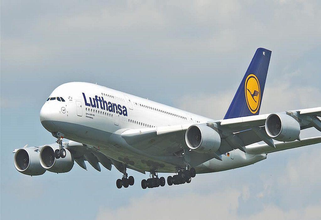 Lufthansa: Διακόπτει τις πτήσεις της στον εναέριο χώρο της Λευκορωσίας