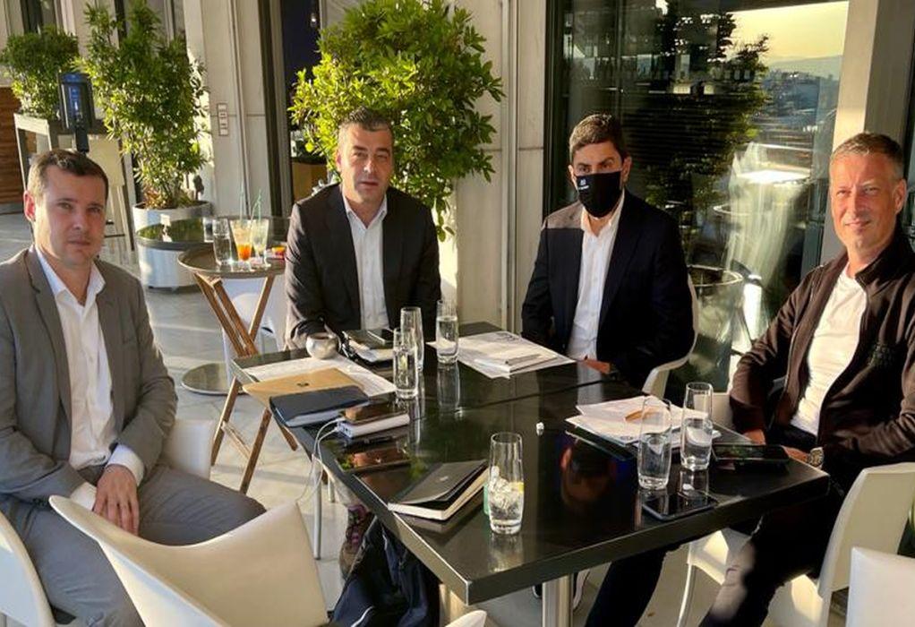 Συνάντηση Αυγενάκη με αντιπροσωπεία της UEFA