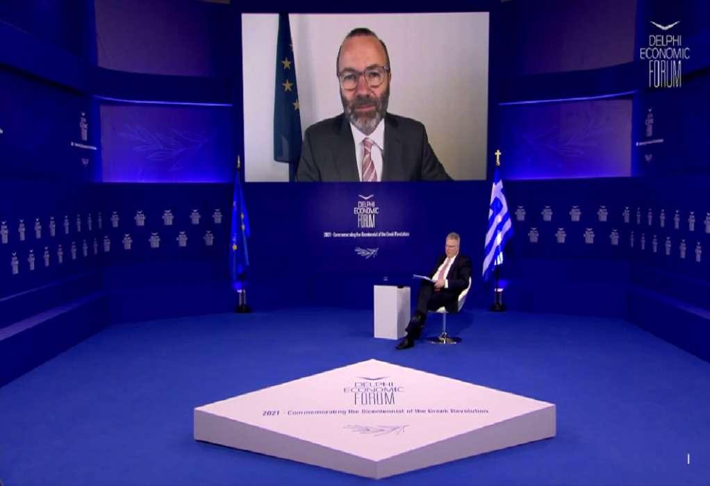 Βέμπερ: Η Τουρκία δεν μπορεί να γίνει μέλος της ΕΕ