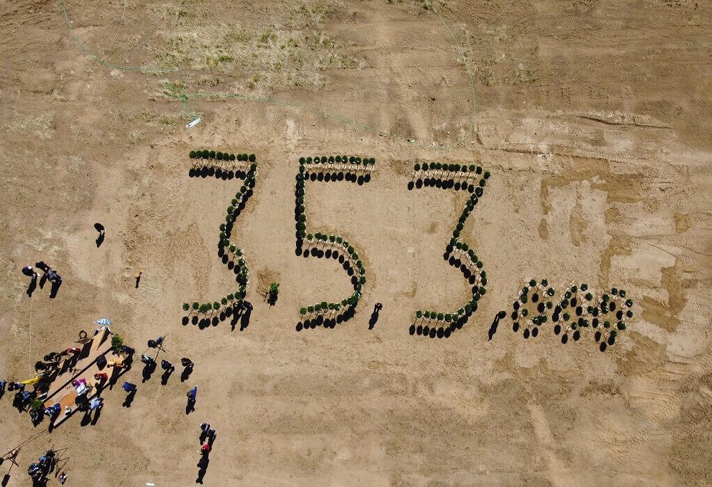 Δ. Λαγκαδά: Ολοκληρώθηκε η δενδροφύτευση για τη Γενοκτονία των Ποντίων