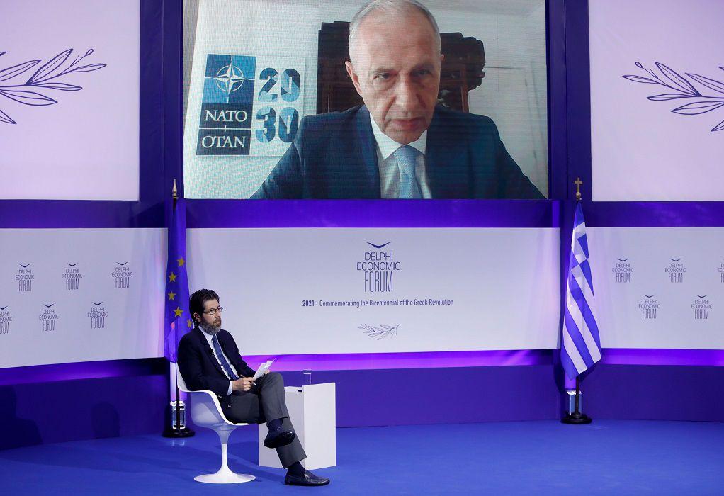 Geoana: To NATO στηρίζει απόλυτα το διάλογο μεταξύ Αθήνας και Άγκυρας