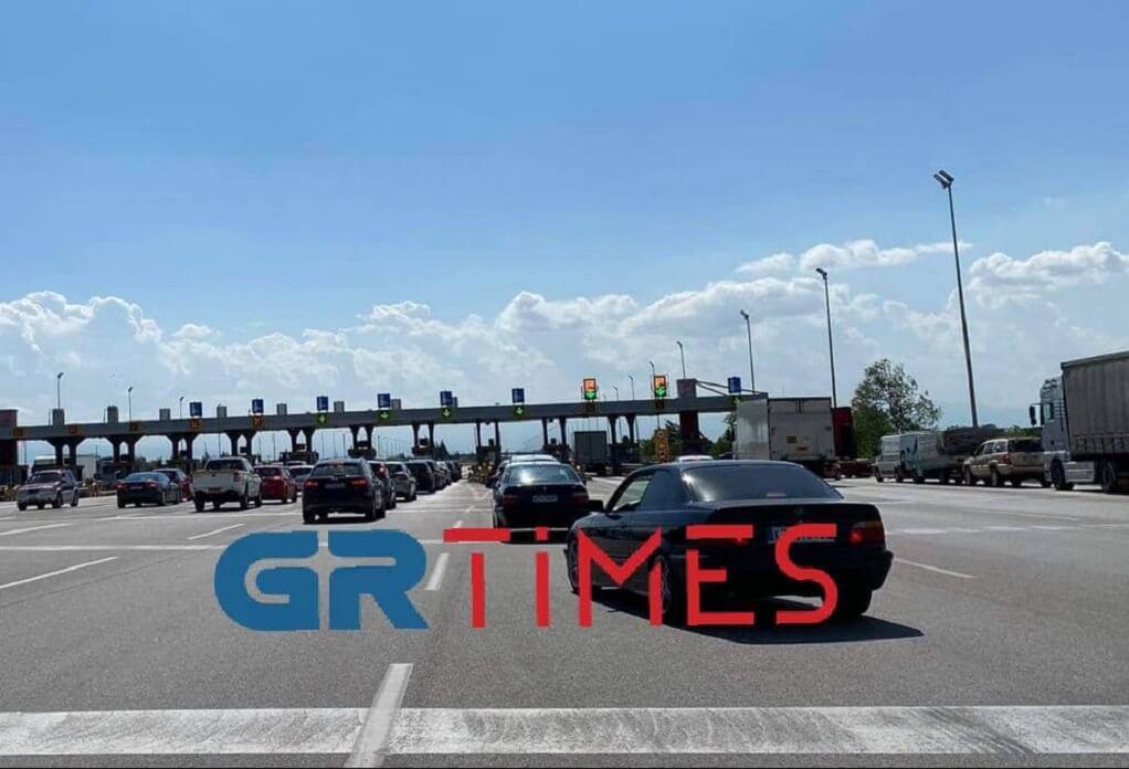 Πολύ αυξημένη η κίνηση στα διόδια Μαλγάρων (VIDEO)