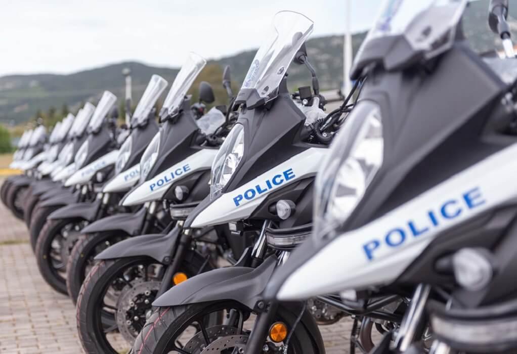 Δεκαέξι νέες μοτοσικλέτες ενισχύουν τον στόλο την ΕΛΑΣ