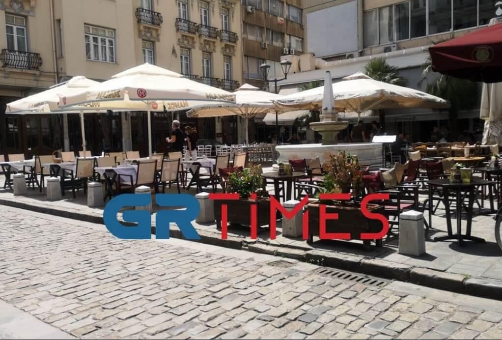 Θεσσαλονίκη: «Πικρός» ο καφές για τους επιχειρηματίες της εστίασης
