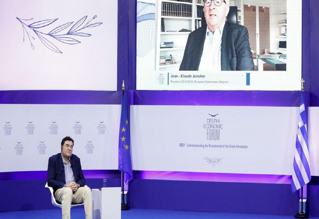 Ζαν-Κλοντ Γιούνκερ: Το ελληνικό πρόγραμμα ανάκαμψης, «ένα από τα καλύτερα»