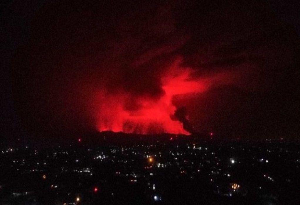 Κονγκό: Εξερράγη το ηφαίστειο Νιραγκόνγκο