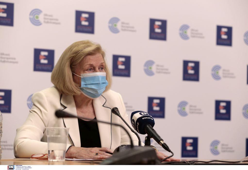 Θεοδωρίδου: Το τείχος ανοσίας θα πρέπει να ξεπερνά το 80%