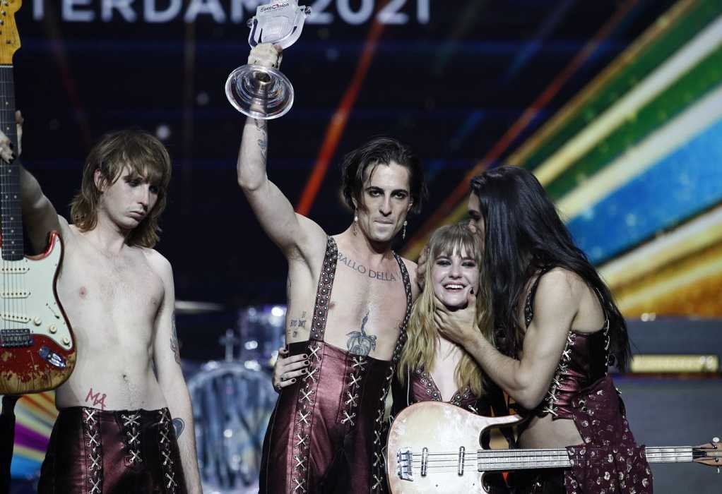 Eurovision 2021: Μεγάλη νικήτρια η Ιταλία! Τι θέσεις πήραν Ελλάδα και Κύπρος (VIDEO)