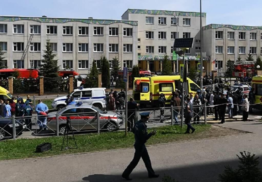 Ρωσία: Μακελειό σε σχολείο με πολλούς νεκρούς – Συγκλονιστικές εικόνες (VIDEO)
