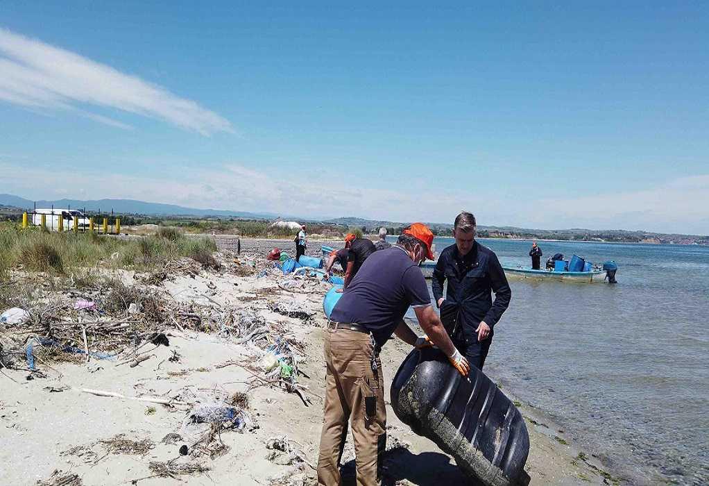 Επιχείρηση «Καθαρές Ακτές, Καθαρός Θερμαϊκός» από την ΠΚΜ