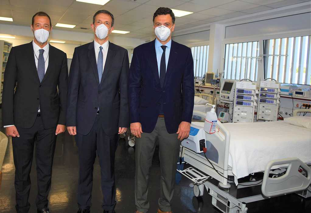 Β. Κικίλιας: Έξι υπερσύγχρονες κλίνες ΜΕΘ στο Νοσοκομείο Παίδων «Η Αγία Σοφία»