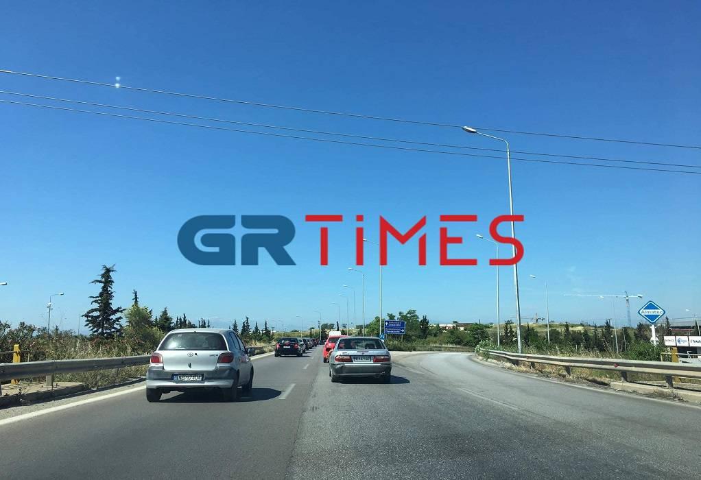 Αυξημένη αλλά χωρίς προβλήματα η κίνηση προς Χαλκιδική (ΦΩΤΟ)