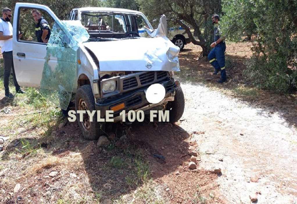 Tραγωδία στην Κρήτη: Δύο νεκροί ηλικιωμένοι σε τροχαίο