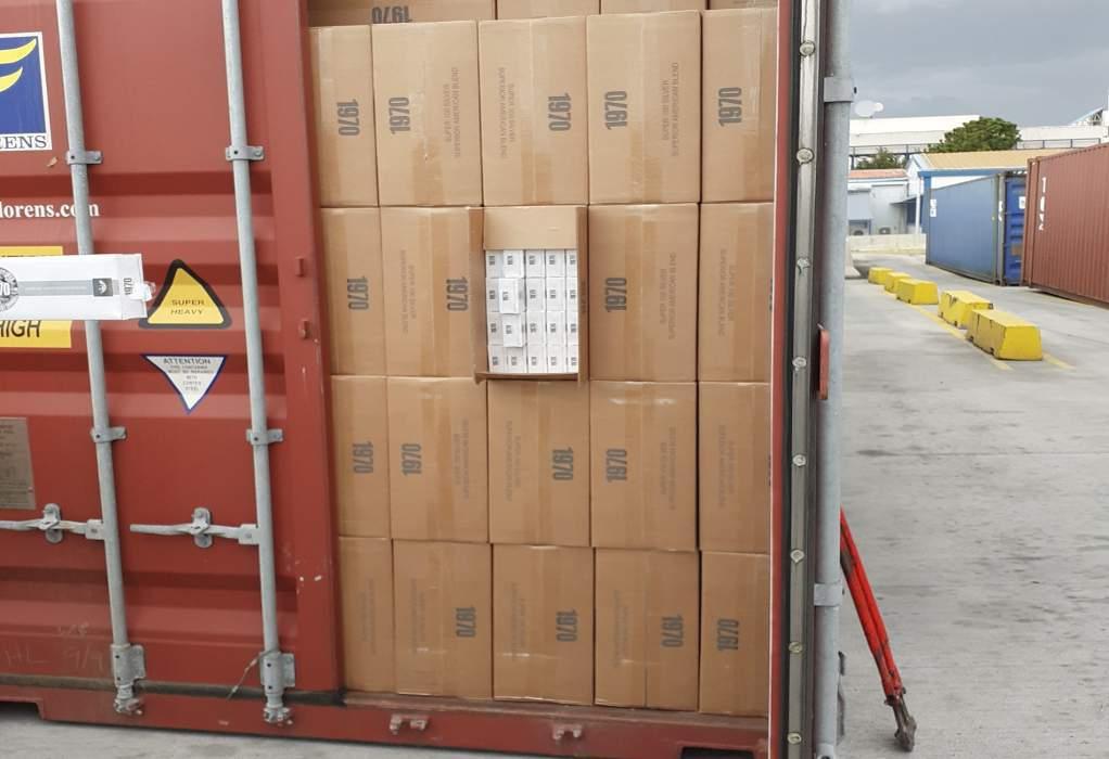 Τεράστια επιτυχία των τελωνειακών- 35 containers με 338 εκατ. λαθραία τσιγάρα