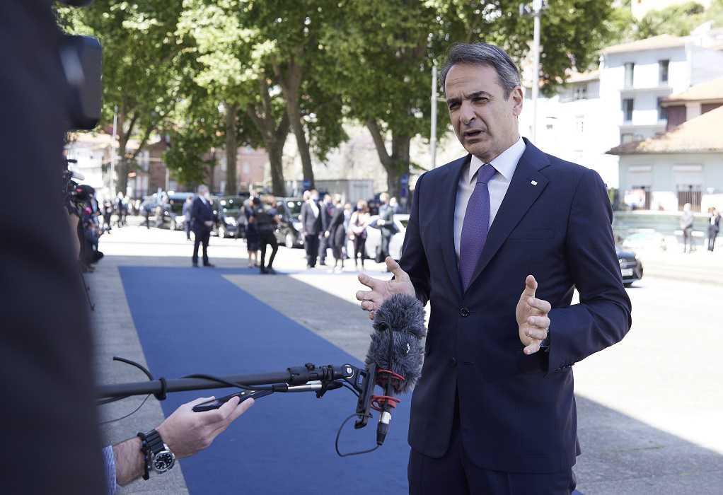 Κυρ. Μητσοτάκης: Η σύνοδος γίνεται σε ένα σημείο καμπής για την ευρωπαϊκή οικονομία