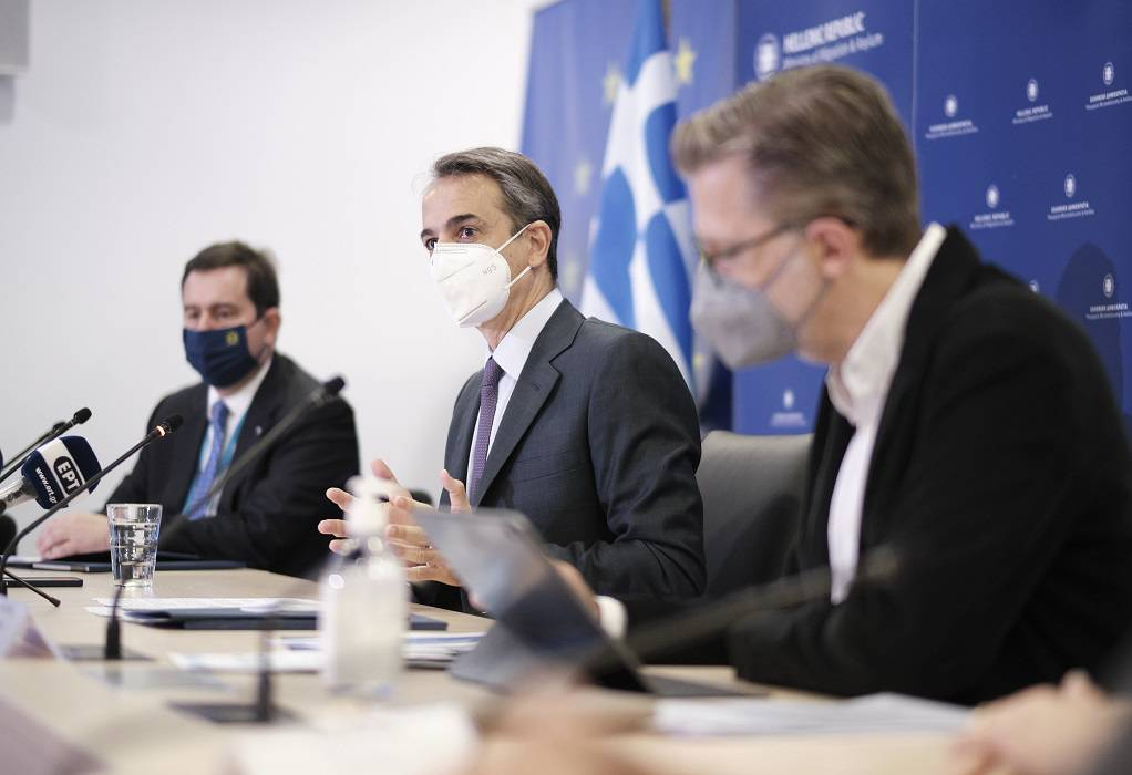 Κυρ. Μητσοτάκης: Πολιτική έξι σημείων για το Μεταναστευτικό