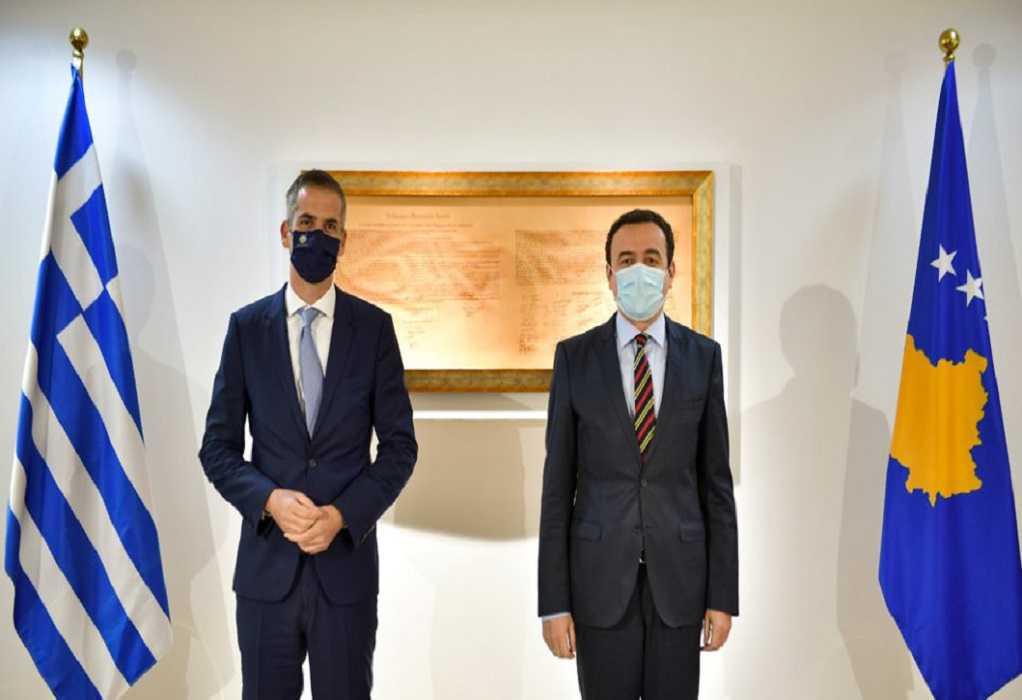 Στην Πριστίνα ο Κ. Μπακογιάννης – Επισκέφθηκε και την Ελληνική Δύναμη Κοσόβου