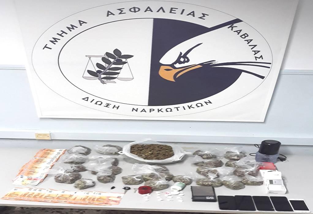 Καβάλα: «Χειροπέδες» σε διακινητές κοκαΐνης και κάνναβης (ΦΩΤΟ)