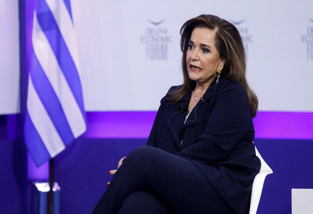 Ντ. Μπακογιάννη: Ανησυχώ για την κατάσταση στο Ισραήλ