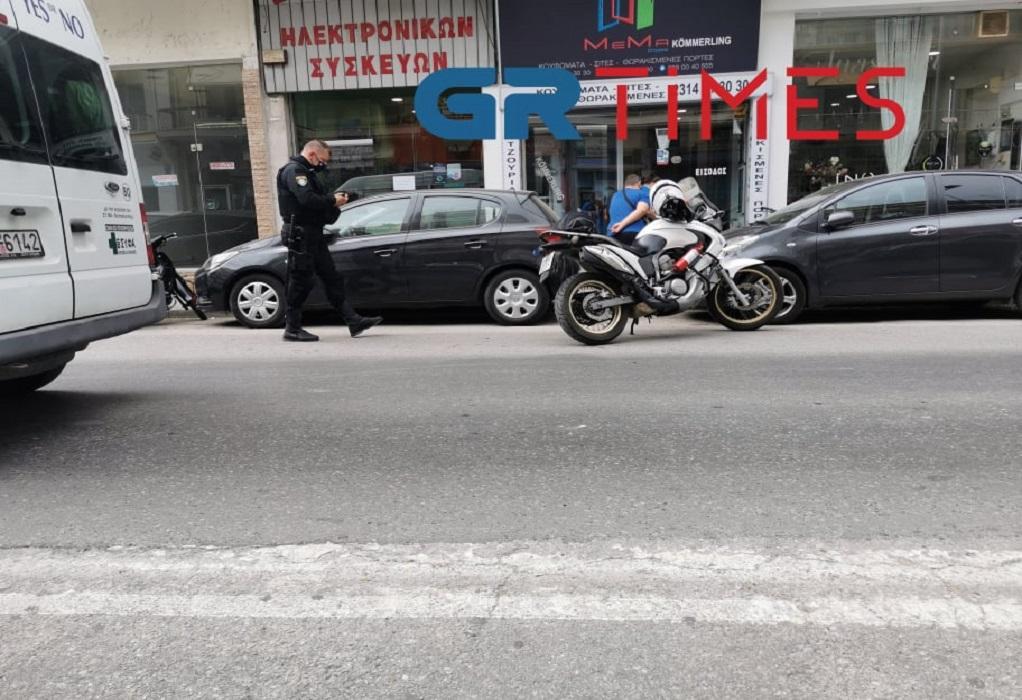 Θεσσαλονίκη: Τον έριξαν από την μοτοσυκλέτα και τον ξυλοκόπησαν (ΦΩΤΟ)