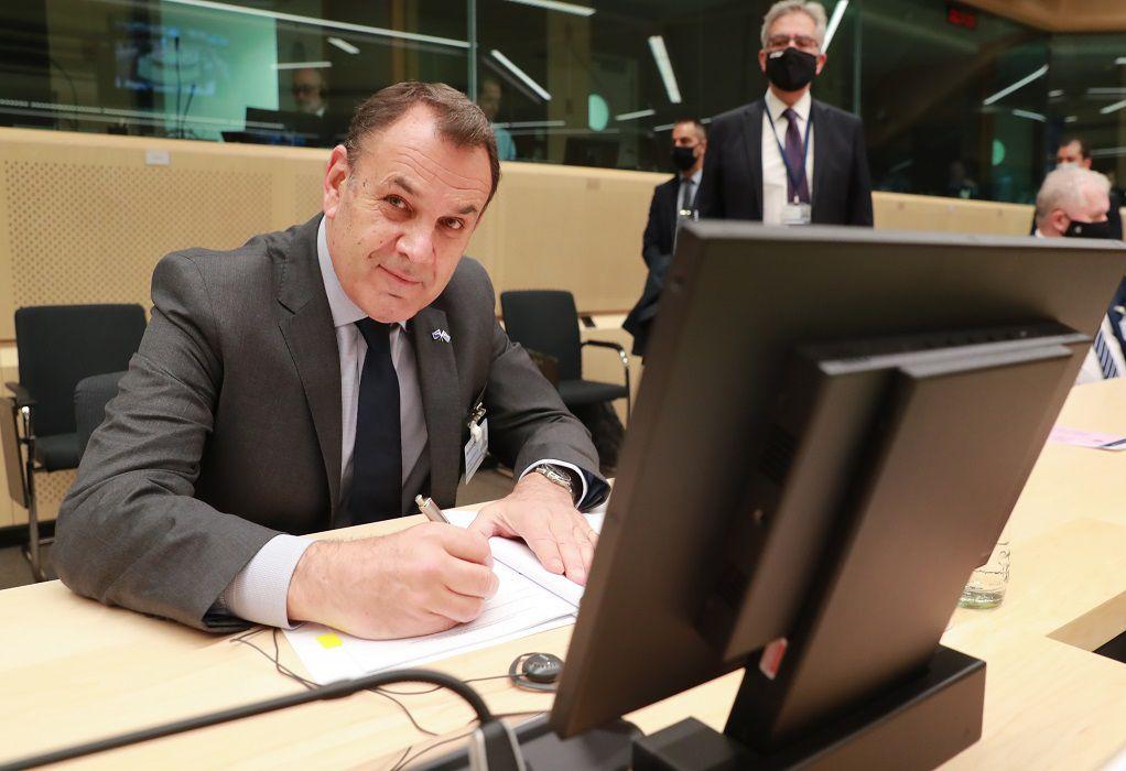 Παναγιωτόπουλος: Πάντα έτοιμοι για την προάσπιση των κυριαρχικών δικαιωμάτων