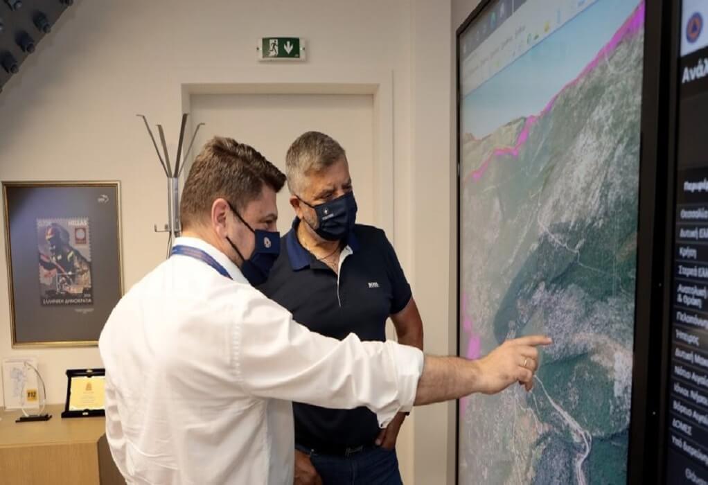 Συνάντηση Χαρδαλιά-Πατούλη για τα προληπτικά έργα πυροπροστασίας στην Αττική