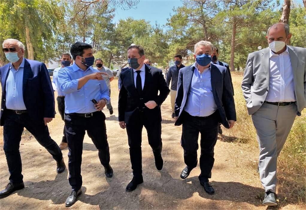 Πέτσας – Χανιά: Εξελίξεις για το πάρκο Αγ. Αποστόλων και ποταμό Ταυρωνίτη