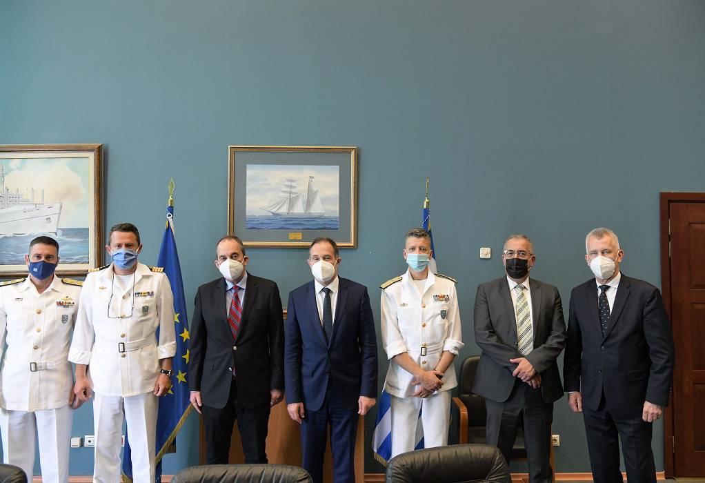 Συνάντηση Πλακιωτάκη με τον Εκτελεστικό διευθυντή της FRONTEX