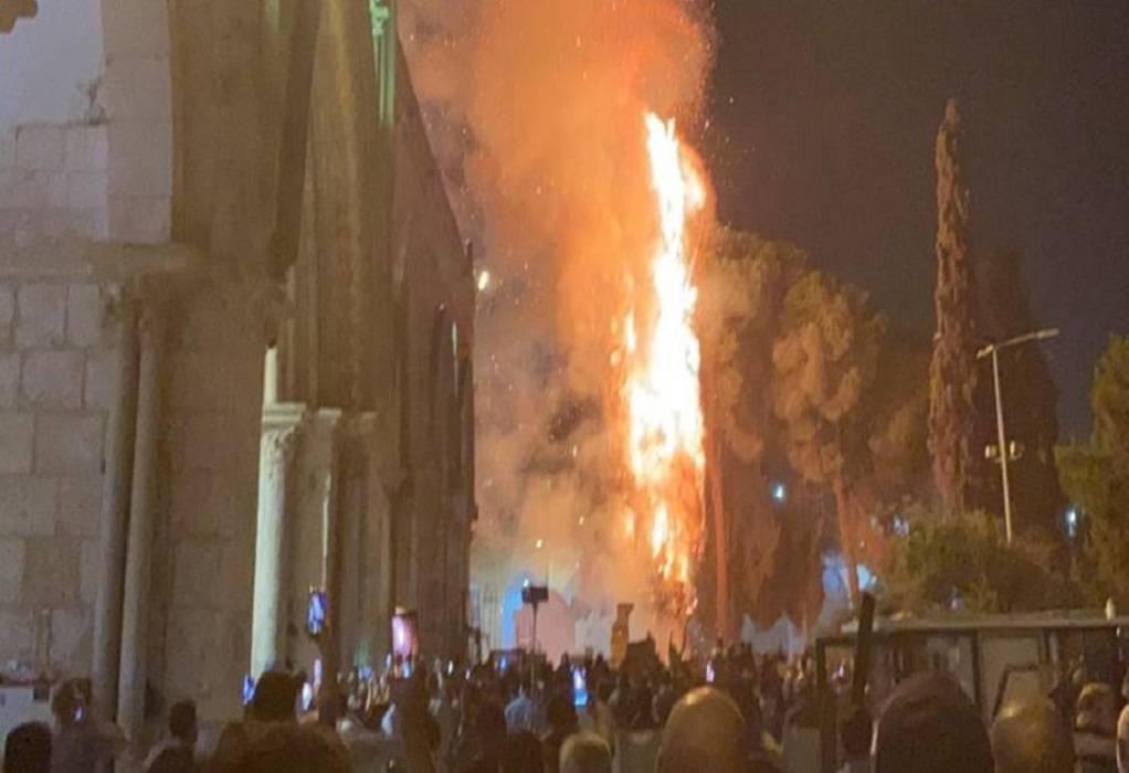Ιερουσαλήμ: Νέες συγκρούσεις στην Πλατεία Τεμενών