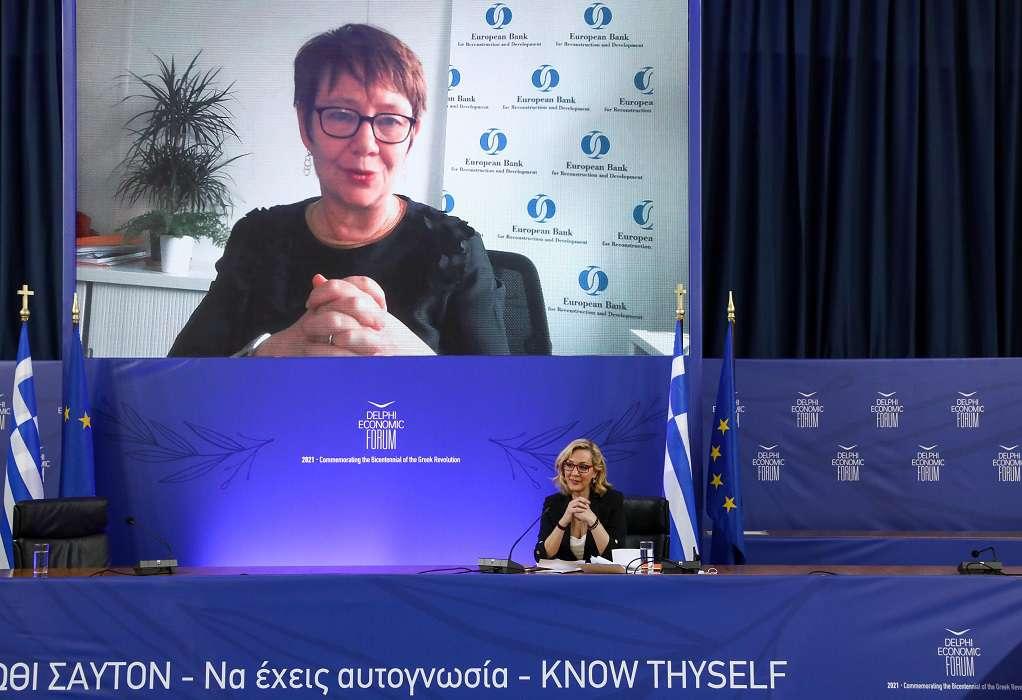 Πρόεδρος EBRD: Για εμάς η Ελλάδα είναι success story